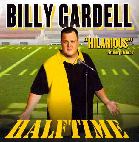 BILLY GARDELL:HALFTIME BY GARDELL,BILLY (CD)